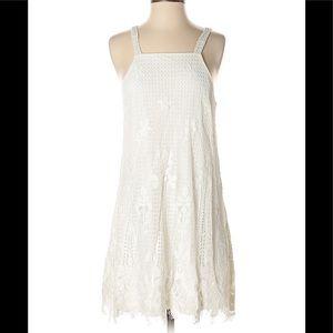 Francesca's off white dress